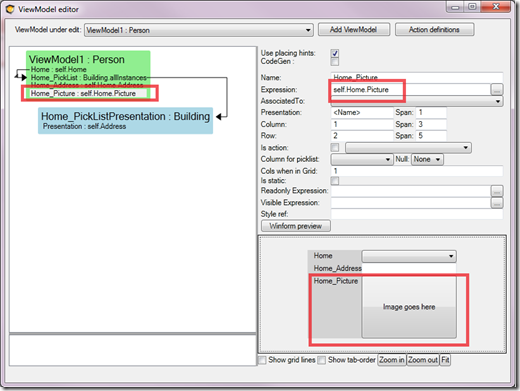 ViewModel Editor