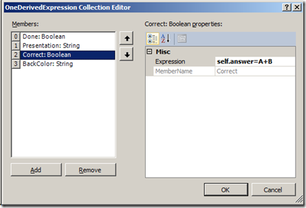 UML Derived attributes ECO