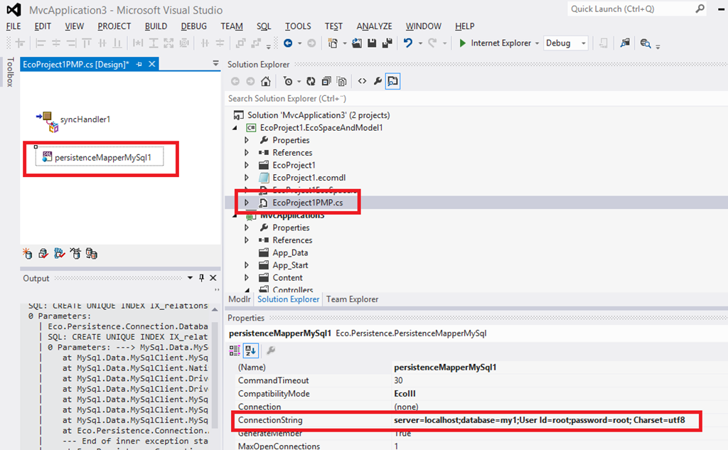 MySQL–notes to support the use of MySQL with MDriven